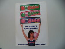 advertising Pubblicità 1980 BUBBLE GUM GOMME BIG BABOL BROOKLYN