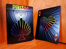 Prism: Night Limited Edition Playing Cards Deck Numbered Sealed