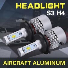 2x H4 252W 25200LM PHILIPS LED Headlight Kit Hi/Low Beam Bulb White 6500K Power