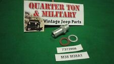 Jeep Willys M38 M38A1 CJ3A CJ3B Bypass hose barb for block and water pump