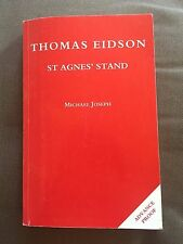 """1994 ADVANCED PROOF 1ST EDITION """"ST AGNES' STAND"""" THOMAS EIDSON PAPERBACK BOOK"""