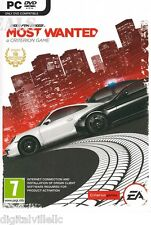 Need for Speed Most Wanted 2012 PC Brand New Sealed NFS Racing Game