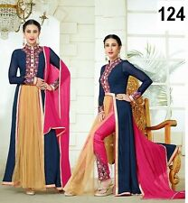 Designer Salwar Kameez Suit INDIAN PAKISTANI BOLLYWOOD ANARKALI DRESS SALWAR D7