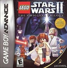 Lego Star Wars Ii 2 The Original Trilogy Game Boy Advance SP Ds Game Cartridge!