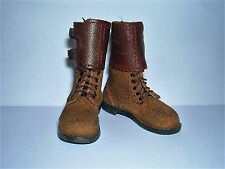 DID 1/6th Scale WW2 U.S. Army Leather Boots - Paul