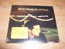 Untold by Pete Francis (Music CD Jun-2003 Hollywood Limited Edition Package) NEW