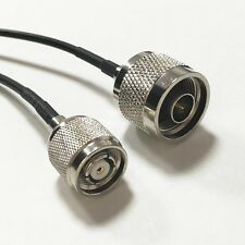 N type male to RP TNC male pigtail cable RG174 20cm for wifi router antenna