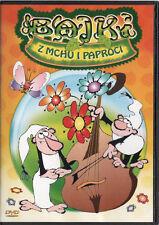 Zwirek i Muchomorek muzykami (DVD) Bajki z Mchu i Paproci POLSKI POLISH