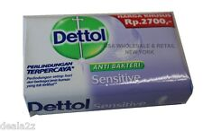 3 X 70g DETTOL SENSITIVE Soap Anti Bacterial Bar Soap USA SELLER FAST S&H