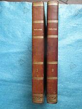 2 VOL. DE PIECES DE THEÂTRE 1832/1837 dont DUMAS, SOULIE, SCRIBE, DELAVIGNE...