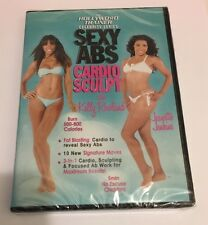 SEXY ABS CARDIO SCULPT THE HOLLYWOOD TRAINER DVD JENKINS JEANETTE KELLY ROWLAND