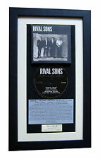 RIVAL SONS Great Western CLASSIC CD Album QUALITY FRAMED+EXPRESS GLOBAL SHIPPING