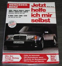 Reparaturanleitung Mercedes W 124 200 E 260 280 300 E-24 320 ab 1984 - 1995 NEU!