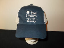 Texas Crown Club Whiskey Whisky mesh trucker snapback hat sku8