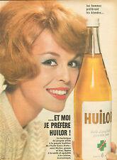Publicité  ///  HUILOR  huile d'arachide