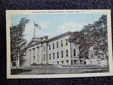 1920's The Main Building, Union University in Jackson, Tn Tennessee PC