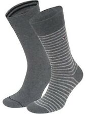 Tommy Hilfiger Men's Socks UK 6-8 Grey 2 Pack - Box6105