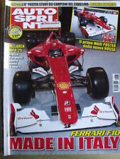 Autosprint 5 2010 Ferrari F10 Made in Italia - Mc Laren Mp4-25  [SC.49]