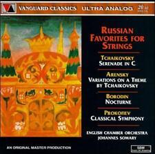 Russian Favorites For Strings (CD, Vanguard)  (cd3106)