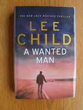 Lee Child A Wanted Man 1st UK HC SIGNED New
