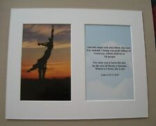 Louisiana Monument at Gettysburg Photograph with Christmas Scripture