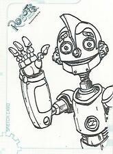 "Robots The Movie - SK7 ""Jeff Zugale"" Sketch Card #456/501"