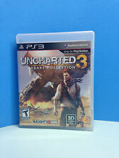 PS3 Uncharted 3 DRAKE'S DECEPTION Video Game Playstation