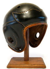 Early Old Antique 1930's SPALDING Wing Back Leather Football Helmet Vintage WOW