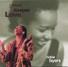 I Found a Deeper Love Byars, Rickie Audio CD
