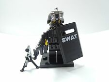 (no.10-7) custom swat police helmet military gun army weapons  for LEGO