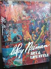 Art & Lifestyle by Leroy Neiman (1974, Book, Illustrated) 1st. ed in DJ