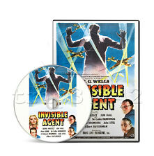 Invisible Agent (1942) H.G. Wells Adventure, Comedy, Romance Movie on DVD