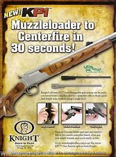 2008 KNIGHT KP1 Muzzleloader RIFLE AD Print Advertising