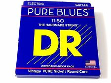 DR Guitar Strings Electric Pure Blues Vintage Pure Nickel  11-50