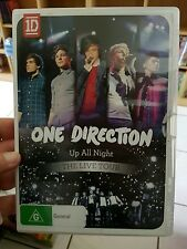 One Direction - Up All Night The Live Tour MUSIC DVD - FREE POST