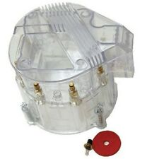 HEI DISTRIBUTOR CLEAR CAP FOR SBC BBC CHEVY HEI V8 50K 65K DISTRIBUTOR