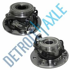 Both (2) New Front Wheel Hub & Bearing Assembly 98-99 Dodge Ram 3500 w/ ABS