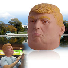 Donald Trump Halloween Mask Billionaire Presidential Costume Latex Cospaly