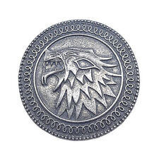 Game of Thrones Song Of Ice And Fire Targaryen Stark Shield Wolf Brooch Pin