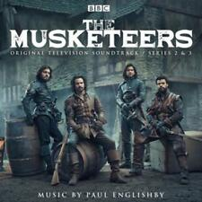 The Musketeers-Series 2 & 3 Soundtrack (2016) -- 2 CD  NEU & OVP VVK 22.07.2016