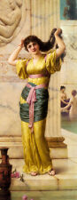 Huge art Oil painting A Roman Beauty in the Baths canvas handpainted