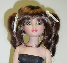 "Monique Doll Wig ""Darling"" Size 8/9 - BROWN BLACK Synthetic Mohair NEW!"