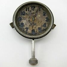 STEWART P14435 Antique ELGIN 8 DAY AUTOMOBILE CLOCK Car Dashboard FOR PARTS