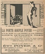 Z9295 La Porte-Souple POYER -  Pubblicità d'epoca - 1932 Old advertising