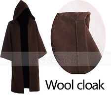 Star Wars Obi-Wan Costume Kenobi Jedi Knight Cospaly Cloak Cape (Just the Cape)