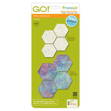 "AccuQuilt GO! & Baby Cutting Die English Paper Piecing Hexagon-1"" Finished Sides"