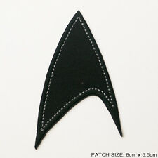 STAR TREK The New Movies Casual Dress Subdued Black Embroidered Patch!