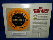 Cooperstown Collection Patch 1925 National League Golden Jubilee