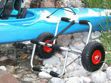 DELUXE KAYAK PADDLE BOARD BOAT TRAILER DOLLY FOLDABLE TRANSPORT CART WHEELS