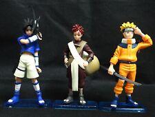 """lot of  3 Naruto Uzumaki Naruto Gaara Uchiha Sasuke pvc figure  5"""" #gf4"""
